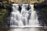 Goitstock Waterfall  Cullingworth  Yorkshire  England  United Kingdom  Europe