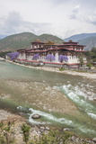 The Punakha Dzong (Pungtang Dechen Photrang Dzong) Is the Administrative Centre of Punakha District