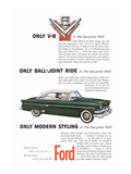 Ford 1954-Only Modern Styling