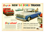 Ford 1958 Step in - Step Ahead