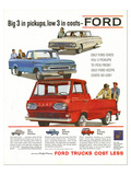 Ford 1961 Big 3 in Pickups