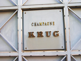 Entrance to Champagne Krug  Reims  Champagne  Marne  Ardennes  France