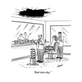 """Bad chair day"" - New Yorker Cartoon"
