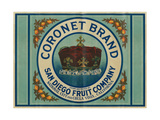 Coronet Lemon Label - Chula Vista  CA