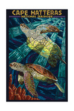 Cape Hatteras National Seashore - Sea Turtle Mosaic