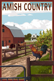 Amish Country - Farmyard Scene