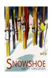 Snowshoe  West Virginia - Colorful Skis