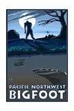 Pacific Northwest - Bigfoot Scene