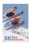 Vail  Colorado - Vintage Skiers