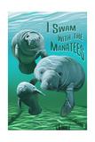 I Swam with Manatees