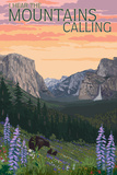 The Mountains Calling - National Park WPA Sentiment