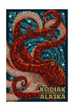 Kodiak  Alaska - Octopus Mosaic