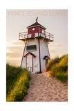 Prince Edward Island - Covehead Lighthouse and Dune