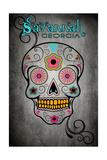 Savannah  Georgia - Sugar Skull