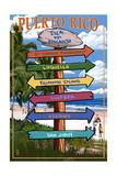 Isla del Encanto  Puerto Rico - Destination Signpost