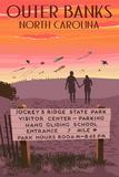 Jockey's Ridge State Park  North Carolina - Welcome Sign