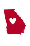 Georgia - Heart Design