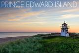Prince Edward Island - Covehead Lighthouse and Sunset