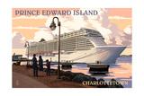 Prince Edward Island - Charlottetown Cruise Ship