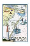 Long Beach Island - Nautical Chart