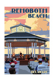 Rehoboth Beach  Delaware - Bandstand