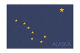 Alaska State Flag - Letterpress (2)
