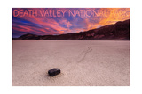 Death Valley National Park - Racetrack at Sunset