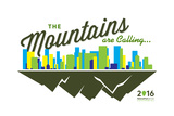 National Park Service Centennial - Skyline and Mountains