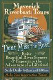 Riverboat - Vintage Sign