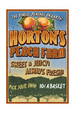 Peach Farm - Vintage Sign