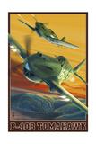 P-40B Tomahawks