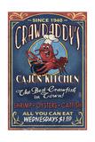 Crawfish - Vintage Sign