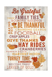 Be Grateful - Thanksgiving Typography