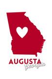Augusta  Georgia - Heart Design