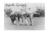 Augusta  Georgia - Elephant Caddie