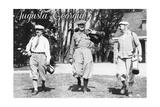 Augusta  Georgia - Men Heading out to the Golf Course