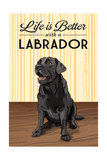 Black Lab - Life is Better