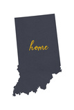 Indiana - Home State - White