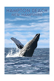 Hampton Beach  New Hampshire - Humback Whale