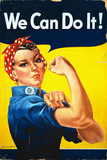 Rosie the Riveter - We Can Do It! - Poster