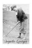 Augusta  Georgia - Woman in Golf Attire