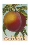 Augusta  Georgia - Vintage Lithograph