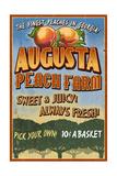 Augusta  Georgia - Peaches Vintage Sign