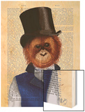 Orangutan in Top Hat