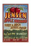 Apple Orchard - Vintage Sign