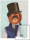 Orangutan in Top Hat