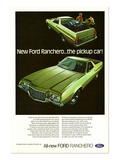 Ford 1972 Ranchero Pickup Car