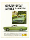 Ford 1968 Ranchero Luxury Idea
