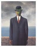 Son of Man (Small) Reproduction d'art par Rene Magritte