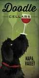 Doodle Wine II Black Dog